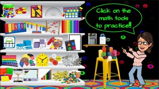Virtual Math Manipulatives for Elementary Students