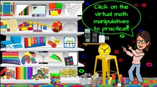 Virtual Math Manipulatives For MS & HS Students